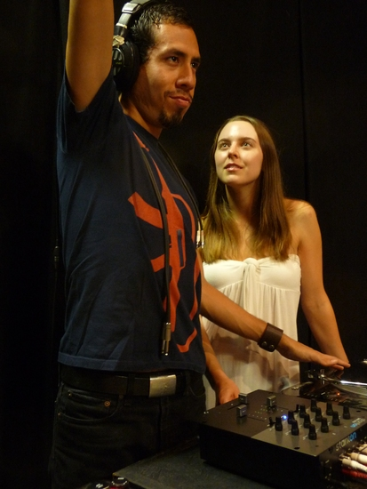 Aldo Pantoja and Giti Jabaily at Single Carrot Theatre Set To Open Its 2009/10 Season With EURYDICE