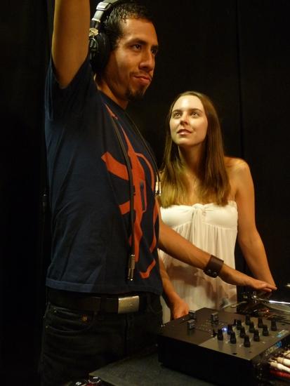 Aldo Pantoja and Giti Jabaily