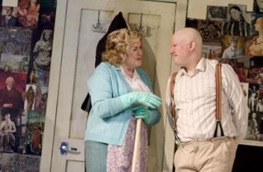 Gwen Taylor and Matt Lucas