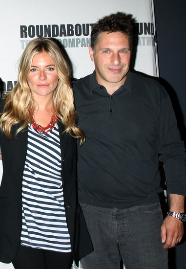 Sienna Miller and Patrick Marber