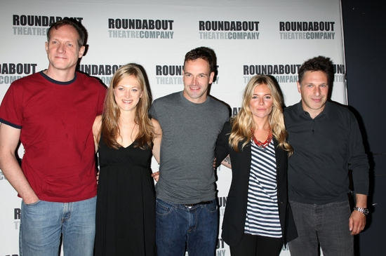 Mark Brokaw, Marin Ireland, Jonny Lee Miller, Sienna Miller and Patrick Marber