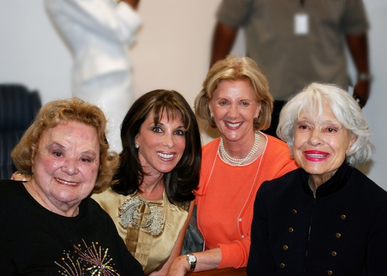 Rose Marie, Kate Linder, Channing Chase, and Carol Channing