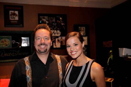 Terry Fator and Miss America Katie Stam