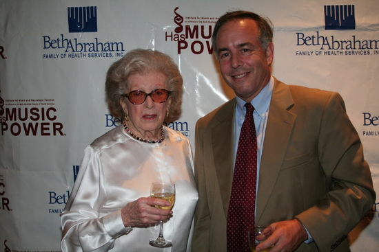 Peggy Rice and Dan Terris