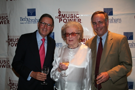 Ed Stern, Peggy Rice and Dan Terris