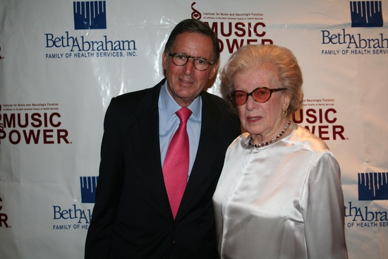 Ed Dtern (Chairman) and Peggy Rice