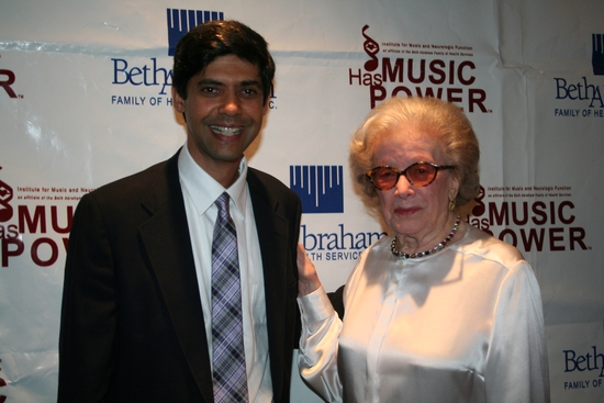 Aniruddh Patel Ph.D and Peggy Rice