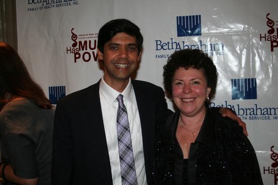 Aniruddh Patel Ph.D and Executive Director Concetta Tomaino