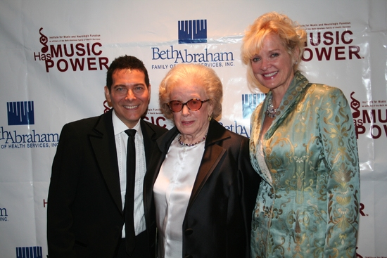Michael Feinstein, Peggy Rice and Christine Ebersole
