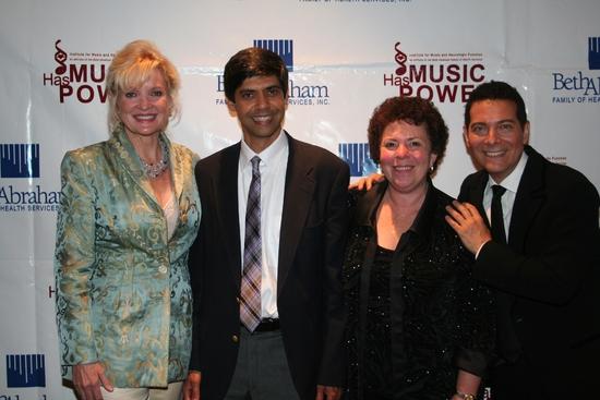 Christine Ebersole, Aniruddh Patel Ph.D, Concetta Tomaino and Michael Feinstein