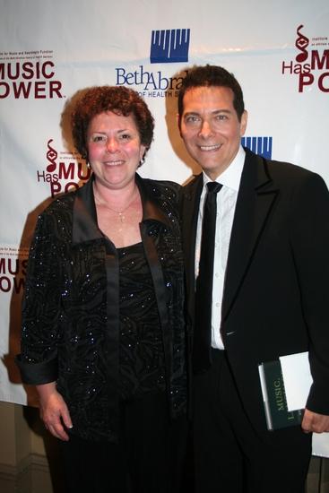 Concetta Tomaino and Michael Feinstein