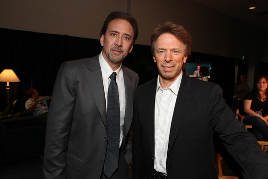 Nicolas Cage and Producer Jerry Bruckheimer at Disney's Inaugural D23 Convention