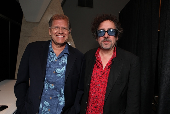 Director Robert Zemeckis and Director Tim Burton