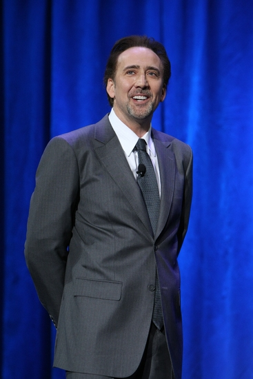 Nicolas Cage at Disney's Inaugural D23 Convention