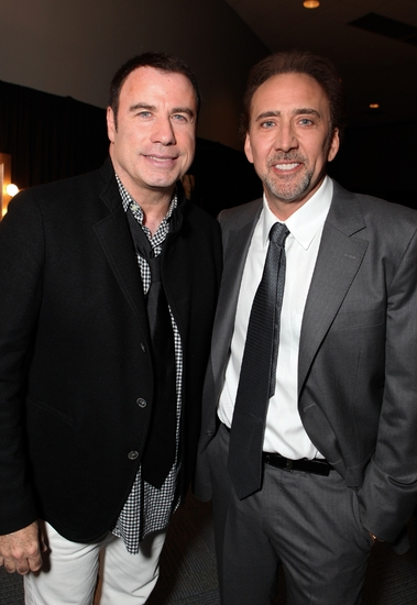 John Travolta and Nicolas Cage