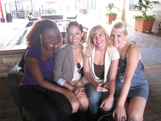 Crystal Joy, Cortney Wolfson, Rhiannon Hansen & Natalie Joy Johnson