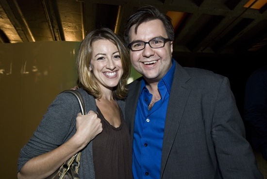 Kate Wetherhead with Casting Director Michael Cassara