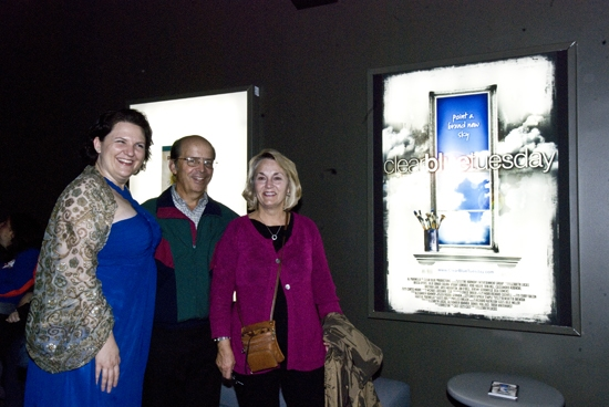 Elizabeth Lucas with proud guests Photo