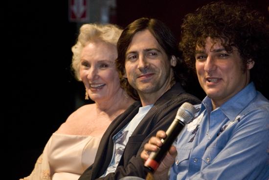 Jan O'Dell, Greg Naughton and Brother Love