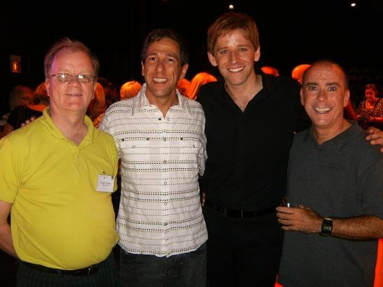 Donald Sprague, Dan Ferretti, Ryan Lanning and Rus Rainear