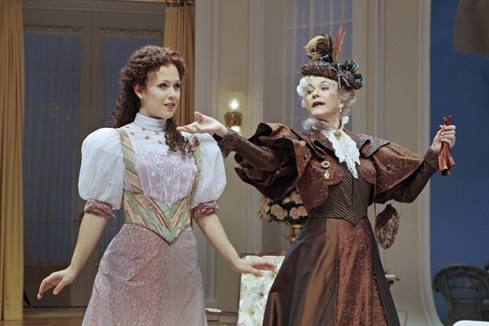 Erin Krakow and Linda Thorson at Photo Flash:THE IMPORTANCE OF BEING EARNEST At The Guthrie