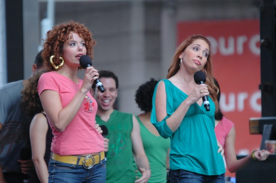 Photo Coverage: Broadway on Broadway 2009 - The Performances Part One!