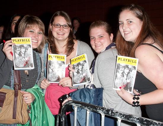 Photo Coverage: BYE BYE BIRDIE's Stage Door Excitement!