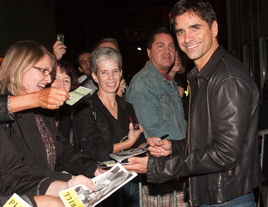 ...because here comes John Stamos