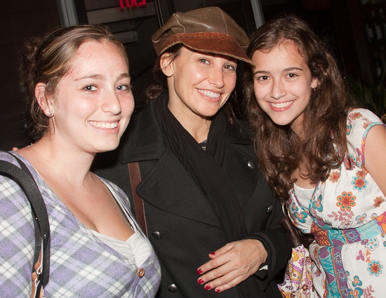 Tracy Goldberg, Gina Gershon, and Sophie Hirsh