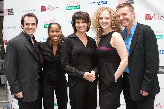 Photo Coverage: New York City Celebrates Broadway on Broadway 2009 - Backstage Arrivals!