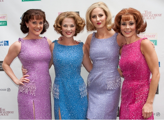 The JERSEY BOYS Gals - Bridget Berger, Katie O'Toole, Heather Ferguson and Sara Schmidt