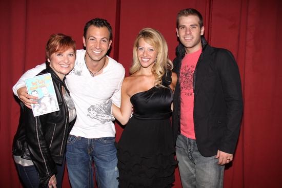 Caroline Manzo, Anthony Wilkinson, Dina Manzo, and Scott Evans