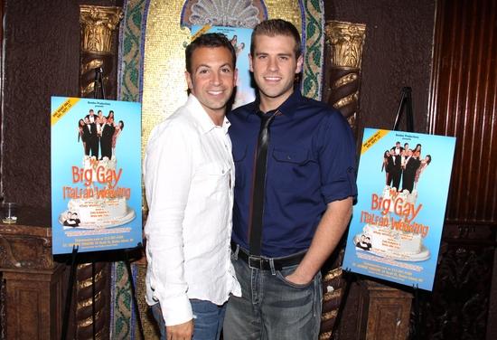 Anthony Wilkinson and Scott Evans