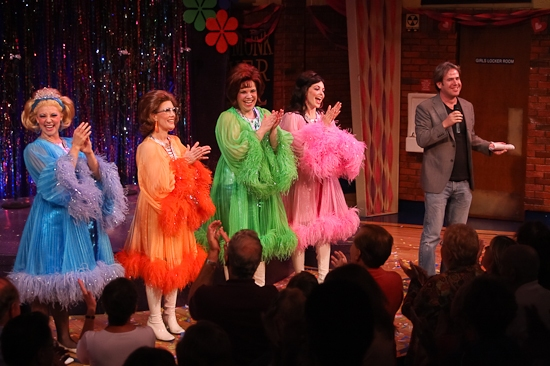 Kirsten Bracken, Misty Cotton, Lindsay Mendez, Christina DeCicco, and David Elzer
