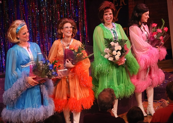 Kirsten Bracken, Misty Cotton, Lindsay Mendez, and Christina DeCicco