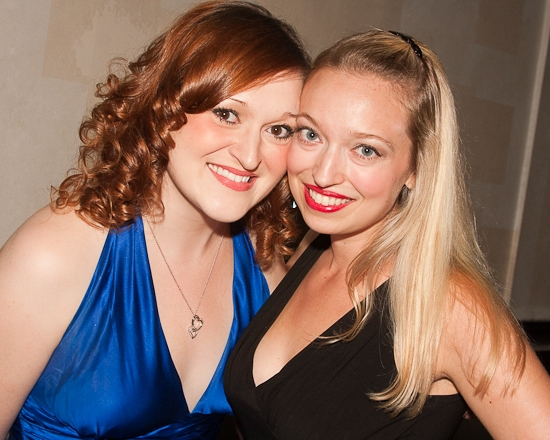 Wonderstudies Tricia Tanguy and Christy Faber at THE MARVELOUS WONDERETTES Celebrates Its One Year Anniversary