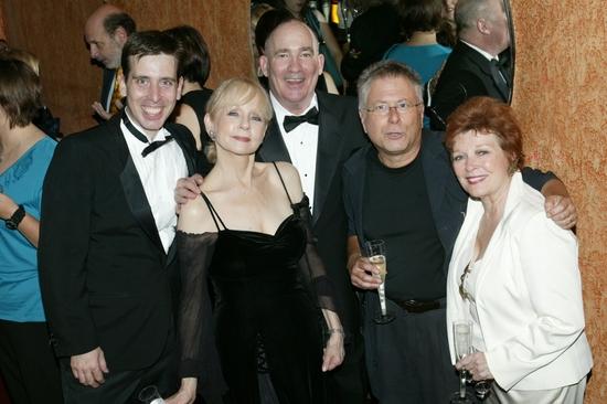 Managing Director David Guerdette, Penny Fuller, PPA Producing Artistic Director Dennis Edenfield, Alan Menken, Anita Gillette