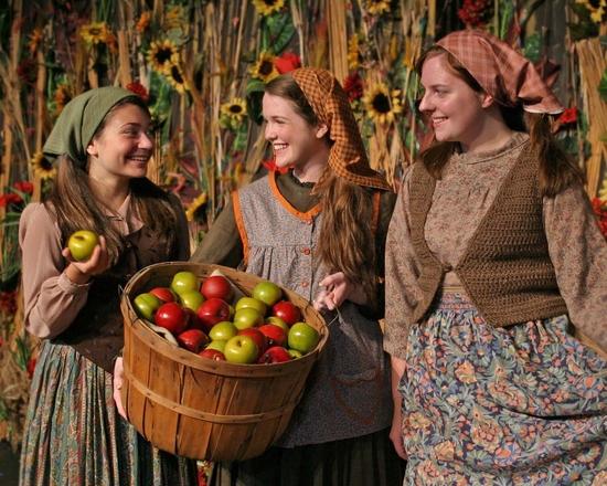 Dani Apple, Patricia O'Toole and Morgan Greene