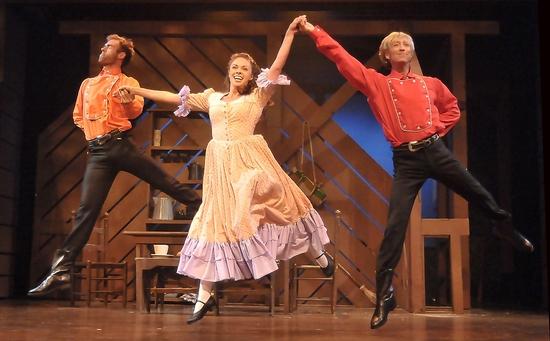 Krista Severeid, Anthony Majewski, and Kenny Shepard