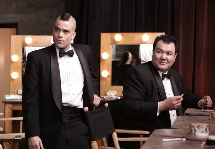 Mark Salling and Patrick Gallagher