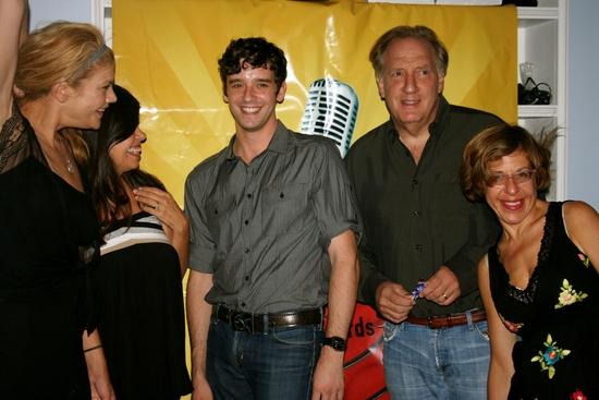 Kristen Johnston, Dayle Reyfel, Michael Urie, Alan Zweibel and Jackie Hoffman Photo