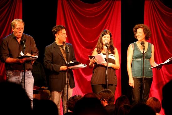 Alan Zweibel, Eugene Pack, Dayle Reyfel and Karen Ziemba Photo