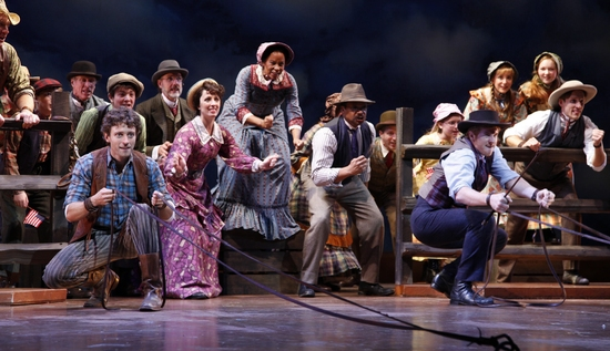 Photo Flash:  LITTLE HOUSE ON THE PRAIRIE-THE MUSICAL At Papermill Playhouse