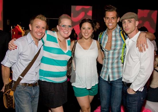 Rusty Mowery, Natalie Joy Johnson, Sara Sheperd, Kyle Brown and Ven Daniel Photo
