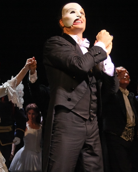 Photo Coverage: THE PHANTOM OF THE OPERA 's 9000th Performance on Broadway - Curtain Call