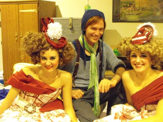 Katie Kalahurka, KC Comeaux and Katie Karel