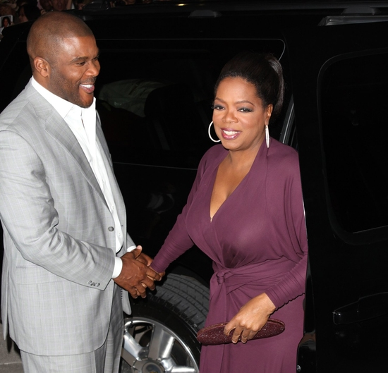 Tyler Perry and Oprah Winfrey at 'Precious: Based on the Novel Push by Sapphire' TIFF 2009 Red Carpet Premiere