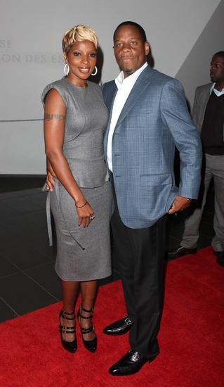 Mary J. Blige and husband, Kendu Isaacs
