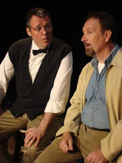 Joel Abels and Mark Peters at HOWL! Arts Project 2009: Theater Series Presents CRADLE WILL ROCK
