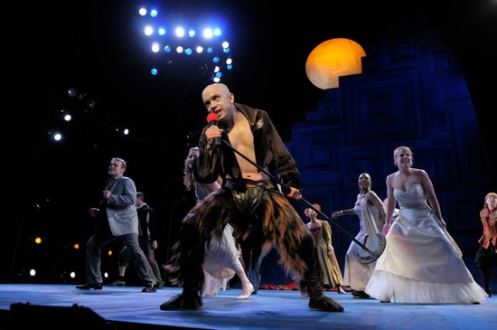 Photo Flash: A MIDSUMMER NIGHT'S DREAM Opening 9/19 At Bruns Amphitheater